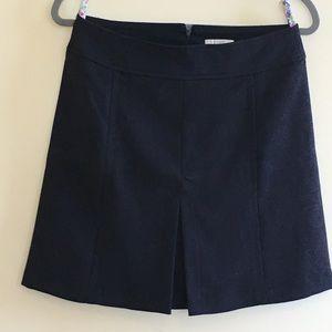 LOFT | Navy Blue Skirt